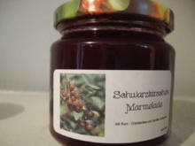 Schwarzkirschen Marmelade mit Rum-Cranberries - Rezept - Bild Nr. 499