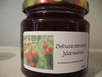 Schwarzkirschen Marmelade mit Kardamom & Sternanis - Rezept - Bild Nr. 499