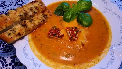 Tomaten-Cremesuppe ... - Rezept - Bild Nr. 518