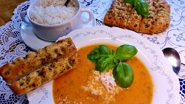 Tomaten-Cremesuppe ... - Rezept - Bild Nr. 527