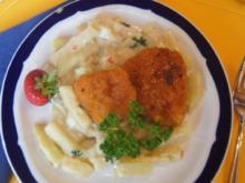 Mini-Hähnchen-Schnitzel auf Kohlrabi-Rahmgemüse - Rezept - Bild Nr. 533