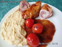 Hähnchen-Involtini mit Polenta - Rezept - Bild Nr. 521