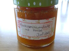 Aprikosen-Vanille-Marmelade - Rezept - Bild Nr. 550