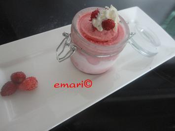 Eis Träumchen mit Wald Erdbeeren - Rezept - Bild Nr. 551