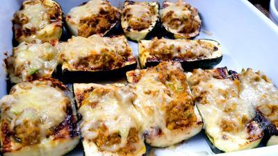 Zucchini - Schiffchen - Rezept - Bild Nr. 550