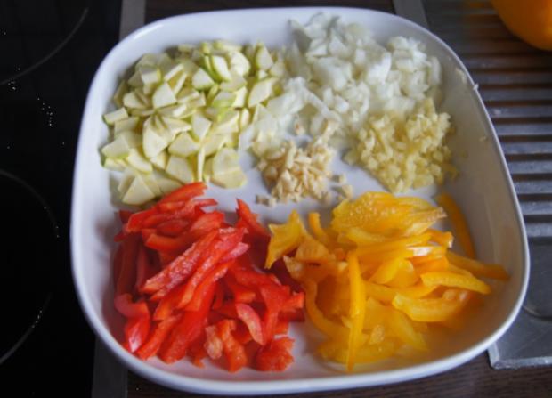 Zucchini-Paprika-Omelett - Rezept - Bild Nr. 566