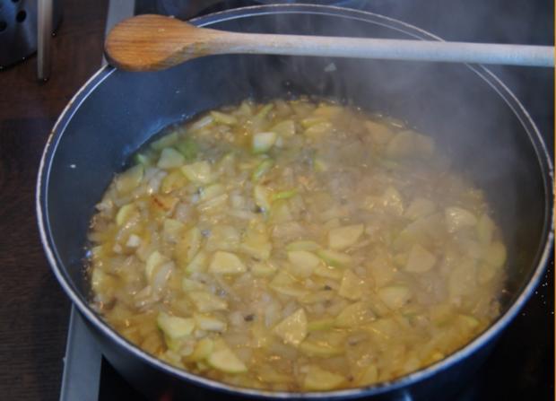 Zucchini-Paprika-Omelett - Rezept - Bild Nr. 568