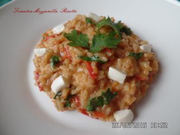 Tomaten-Mozzarella-Risotto - Rezept - Bild Nr. 572