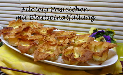 Filoteig Pastetchen - Rezept - Bild Nr. 572