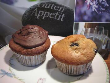 Rezept: Heidelbeer Muffins