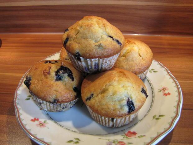 Heidelbeer Muffins - Rezept - Bild Nr. 574