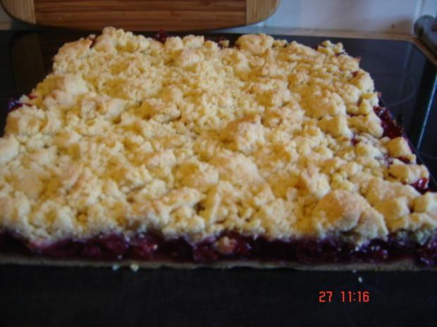Kirsch Streuselkuchen Rezept Mit Bild Kochbar De