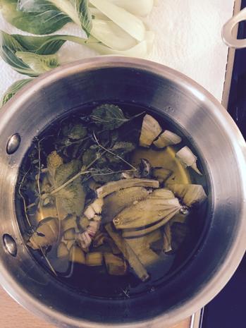 Seeteufelbäckchen-Lachs mit Gemüse-Chili-Couscous - Rezept - Bild Nr. 8