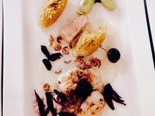 Seeteufelbäckchen-Lachs mit Gemüse-Chili-Couscous - Rezept