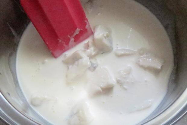 Kochen: Tagliatelle mit Gorgonzola-Sahne-Sauce - Rezept - Bild Nr. 6