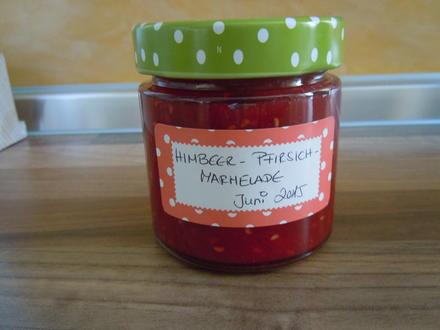 Himbeer-Pfirsich-Marmelade - Rezept - Bild Nr. 85