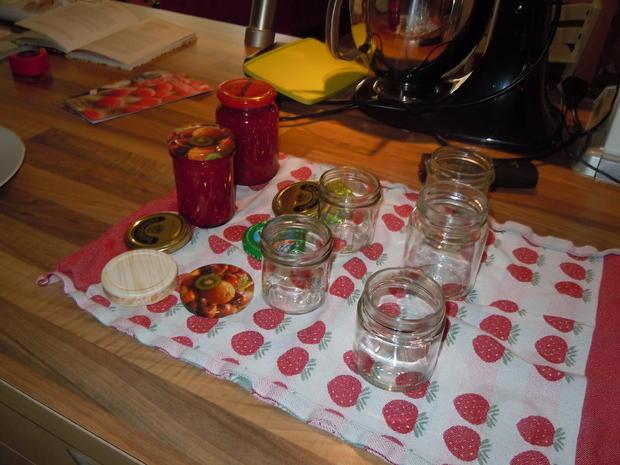 Himbeer-Pfirsich-Marmelade - Rezept - Bild Nr. 86