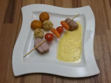 Schweinemedaillons mit Kartoffel- und Kichererbsen-Kroketten - Rezept - Bild Nr. 96