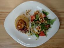 Gefüllte Pastetchen an Rapunzelsalat - Rezept - Bild Nr. 96