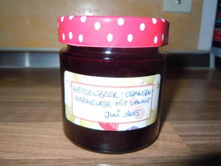 Heidelbeer-Orangen-Marmelade mit Vanille - Rezept - Bild Nr. 104
