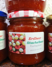 M+G:   ERBEER/STACHELBEER - Fruchtaufstrich - Rezept - Bild Nr. 119