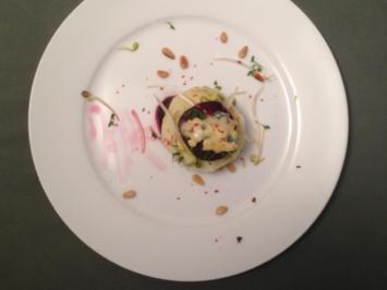 Rezept: Rote-Bete-Apfel-Salat  mit Blauschimmelkäse