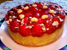 Erdbeer-Zwerg mit Vanillecreme - Rezept - Bild Nr. 211