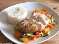 Hähnchenfilet auf Zuchini-Karotten-Gemüse - Rezept - Bild Nr. 211