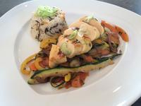 Hähnchenfilet auf Zuchini-Karotten-Gemüse - Rezept - Bild Nr. 354