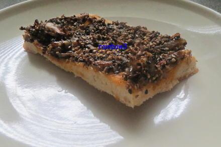 Beilage: Zwiebel-Sesam-Brot/Pizza - Rezept - Bild Nr. 213