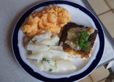 Schlemmerfilet Bordelaise mit Rahm-Kohlrabi und Möhren-Sellerie-Kartoffelstampf - Rezept - Bild Nr. 224