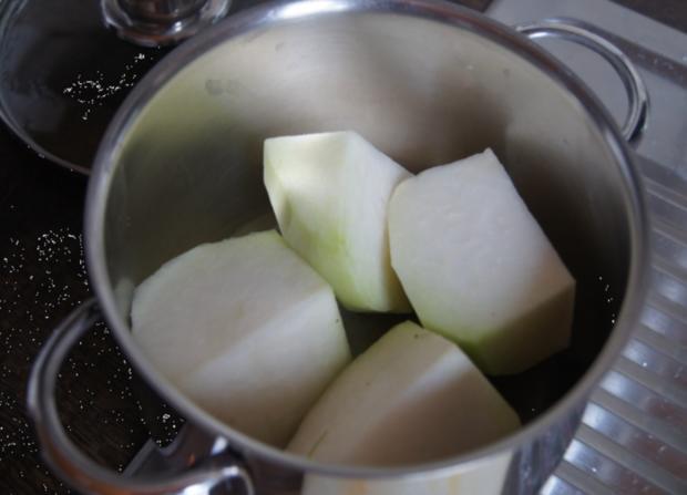 Schlemmerfilet Bordelaise mit Rahm-Kohlrabi und Möhren-Sellerie-Kartoffelstampf - Rezept - Bild Nr. 227