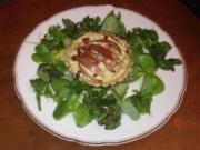 Tartelette auf Grüne-Soße-Nest - Rezept - Bild Nr. 273