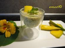 Mango Creme mit Chiasamen - Rezept - Bild Nr. 287