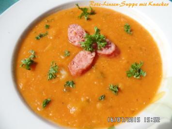Rote -Linsen-Suppe mit Knacker - Rezept - Bild Nr. 281