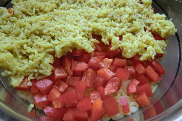 Bunter Reis-Schichtsalat - Rezept - Bild Nr. 295