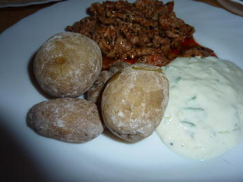 Rezept: Beilagen: Kartoffeln in Salzkruste