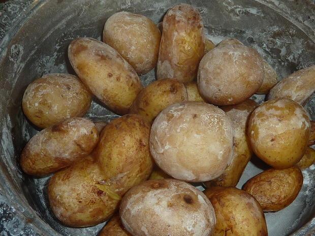 Beilagen: Kartoffeln in Salzkruste - Rezept - Bild Nr. 297