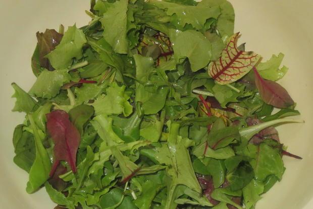 Salat: Bunter Salat mit Joghurt-Dressing - Rezept - Bild Nr. 318