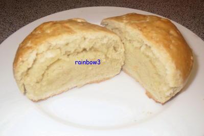 Beilage: Brötchen, gefüllt mit geröstetem Mehl - Rezept - Bild Nr. 316