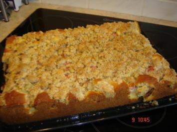 Rezept: Mandarinen-Streuselkuchen