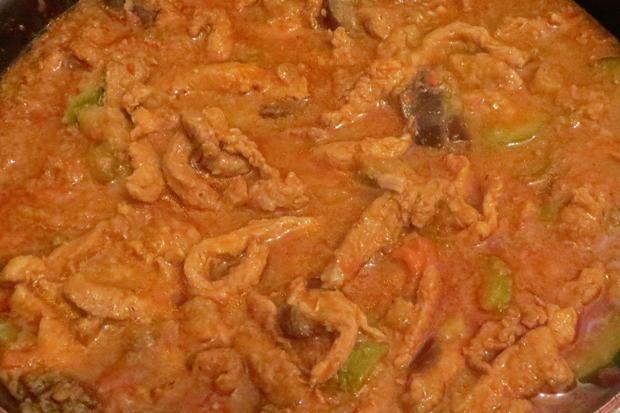 Kochen: Schweine-Geschnetzeltes, orientalisch - Rezept - Bild Nr. 332