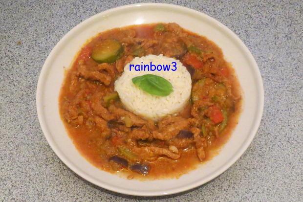 Kochen: Schweine-Geschnetzeltes, orientalisch - Rezept - Bild Nr. 333