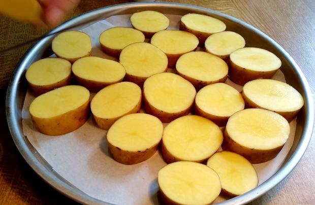 Herzhafte Kartoffeln vom Backblech ... - Rezept - Bild Nr. 327