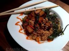 Mie Nudeln mit mariniertem Tofu - Rezept - Bild Nr. 326