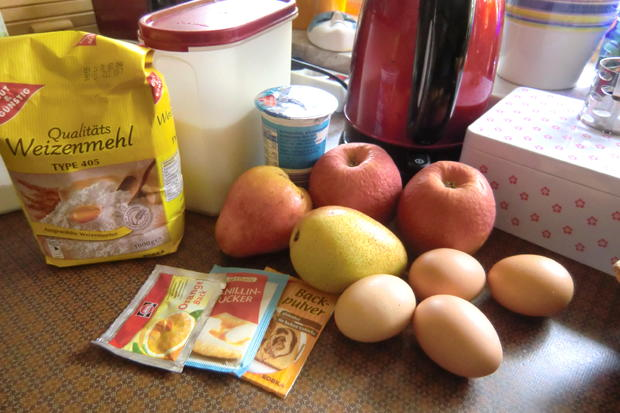 Apfel-Birnen-Kuchen - Rezept - Bild Nr. 354