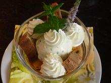Verveine Glace mit marinierte Pfirsich. - Rezept - Bild Nr. 362