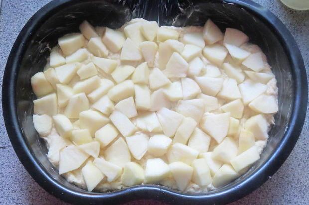 Backen: Apfelkuchen mit Mascarponedecke - Rezept - Bild Nr. 368