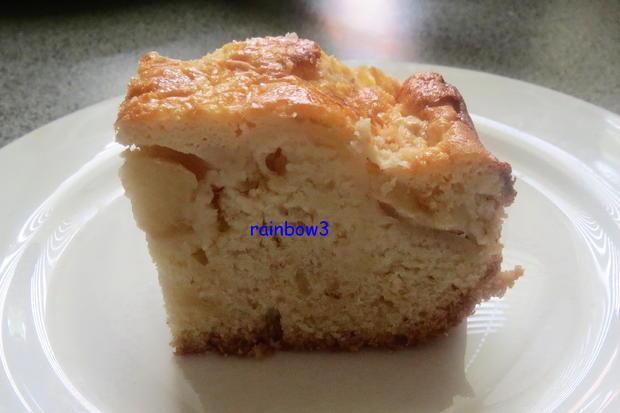 Backen: Apfelkuchen mit Mascarponedecke - Rezept - Bild Nr. 391