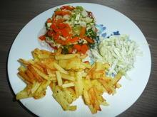 Gemüse - Sülze an Bratkartoffeln + Gurkensalat - Rezept - Bild Nr. 385